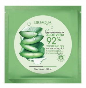 BIOAQUA SOOTHING&MOISTURE ALOE VERA 92% SOOTHING GEL MASK