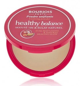 BOURJOIS HEALTHY BALANCE PUDER 56 LIGHT BRONZE