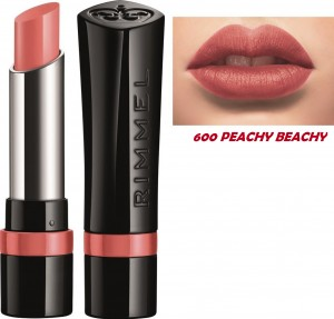 RIMMEL THE ONLY 1 POMADKA DO UST 600 PEACHY BEACHY