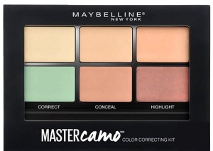 MAYBELLINE MASTER CAMO PALETA KOREKTORÓW 01LIGHT
