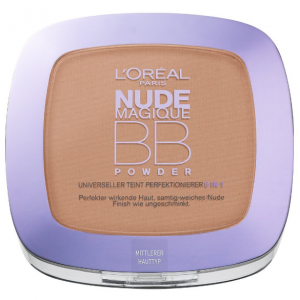 LOREAL NUDE MAGIQUE BB PUDER DO TWARZY MEDIUM OUTLET