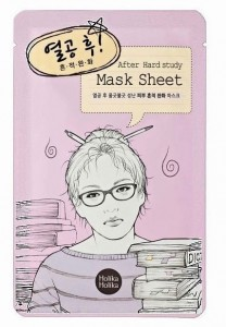 HOLIKA HOLIKA AFTER HARD STUDY MASK SHEET.
