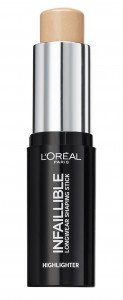 LOREAL INFALLIBLE HIGHLIGHT ROZŚWIETLACZ W SZTYFCIE 502 GOLD IS COLD