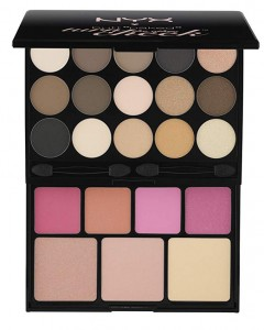 "NYX PROFESSIONAL MAKEUP PALETTE - BUTT ""NAKED"" EYES PALETA DO MAKIJAŻU"