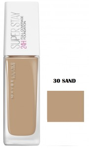 MAYBELLINE PODKŁAD SUPER STAY 24H FULL COVERAGE 30 SAND