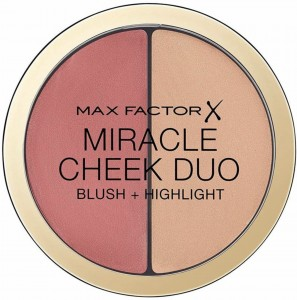 MAX FACTOR MIRACLE CHEEK DUO RÓŻ I ROZŚWIETLACZ 30 DUSKY PINK & COPPER 11G
