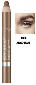 RIMMEL BROW THIS WAY POMADA DO BRWI 002 MEDIUM
