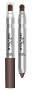 LOREAL BROW ARTIST MAKER KREDKA DO BRWI Z PĘDZELKIEM 04 DARK BRUNETTE