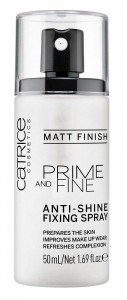 CATRICE PRIME AND FINE FIXING SPRAY MATUJĄCY 50ML
