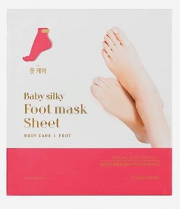 HOLIKA BABY SILKY FOOT MASK SHEET