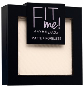 MAYBELLINE FIT ME MATT+PORELESS PUDER 90 TRANSLUCENT