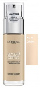 LOREAL TRUE MATCH GOLDEN BEIGE 1.5.N LINEN