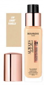 BOURJOIS ALWAYS FABULOUS KRYJĄCY PODKŁAD 110 LIGHT VANILLA 30ML