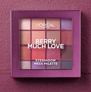 LOREAL BERRY MUCH LOVE PALETKA 16 CIENI 17G