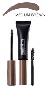 MAYBELLINE TATTOO BROW WODOODPORNY ŻEL DO BRWI 04 MEDIUM BROWN