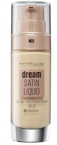 MAYBELLINE DREAM SATIN LIQUID PODKŁAD 01 NATURAL IVORY