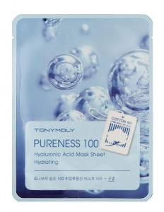 TONY MOLY PURENESS 100 HYALURONIC MASK SHEET HYDRATING