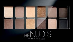 MAYBELLINE THE NUDES 1 PALETA 12 CIENI DO POWIEK