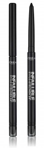 LOREAL INFALLIBLE STYLO EYELINER 24H KREDKA W SZTYFCIE 301 NIGHT DAY BLACK