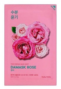 HOLIKA PURE ESSENCE MASECZKA SHEET DAMASK ROSE
