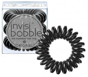 INVISIBOBBLE GUMKI DO WŁOSÓW TRUE BLACK 3 SZT